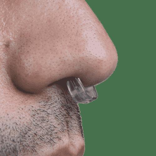 Sanaclip in der Nase